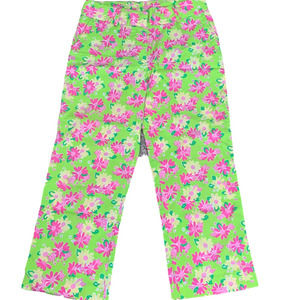 Lilly Pulitzer Rhinodendrum Floral Cropped Pant 2